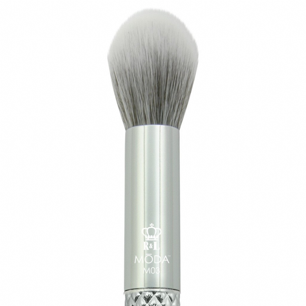 Royal Langnickel Moda Metallic Contour Brush Silver